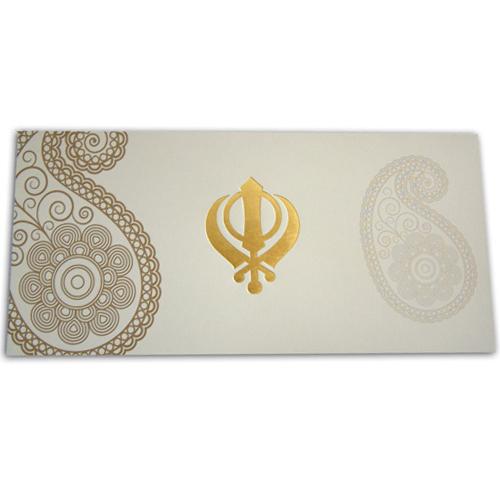 Sikh Wedding Card ABC 455