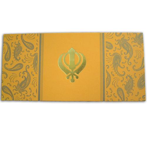 Sikh Wedding Card ABC 456