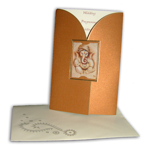 Hindu Wedding Card JP 428 G