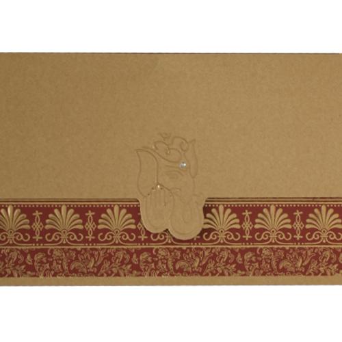 Hindu Wedding Card JP 439