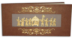 Hindu Wedding Card JP 444