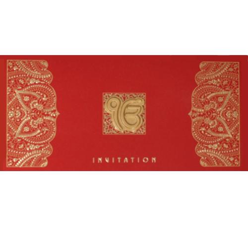 Sikh Wedding Card JP 449e