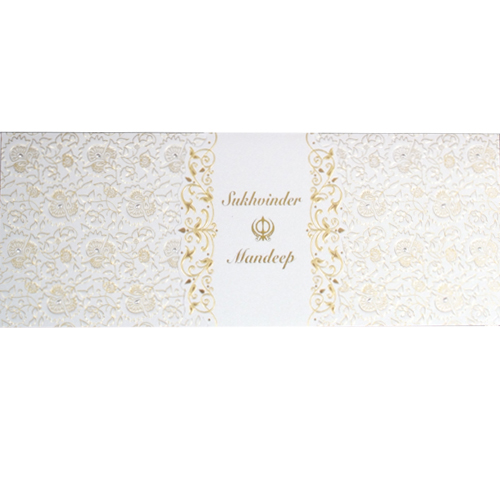 Sikh Wedding Card JP 456n