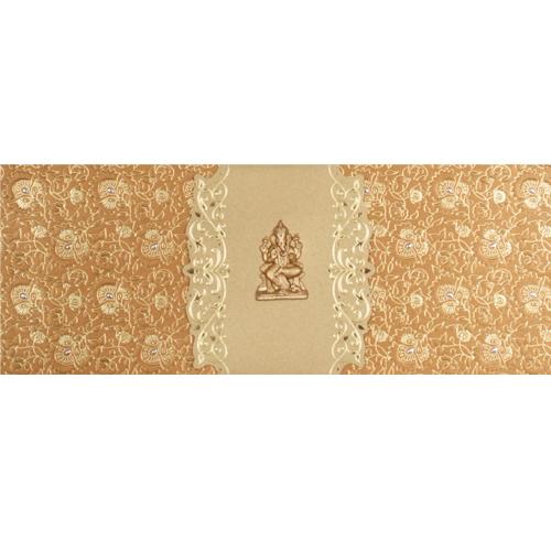 Hindu Wedding Card JP 457g