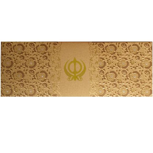 Sikh Wedding Card JP 458