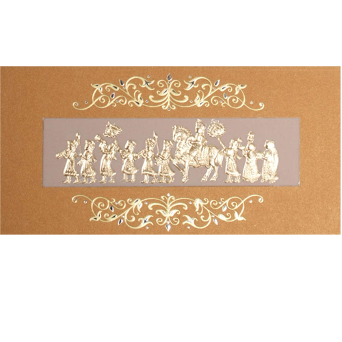 Sikh Wedding Card JP 460b