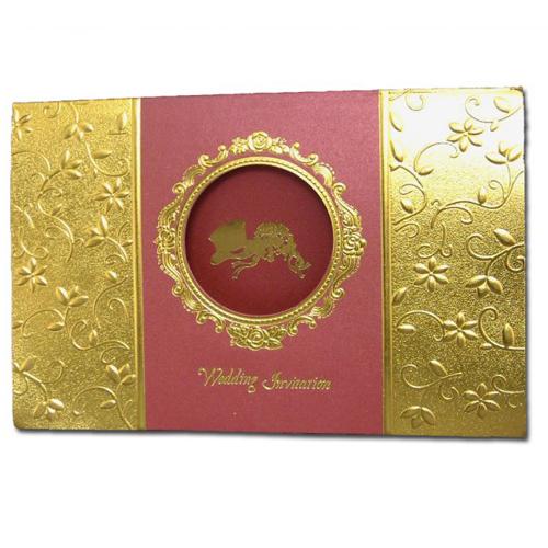 Muslim Wedding Card W0081