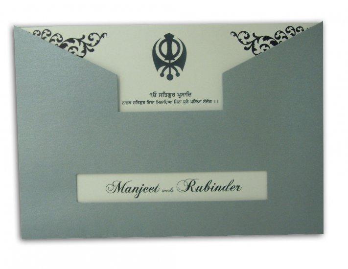 Sikh Wedding Card ABC 465