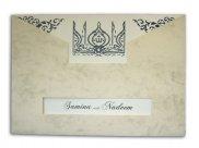 Muslim Wedding Card ABC 518